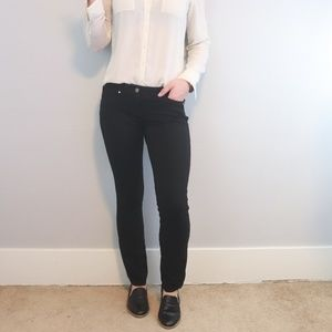 Black Skinny Dress Pants